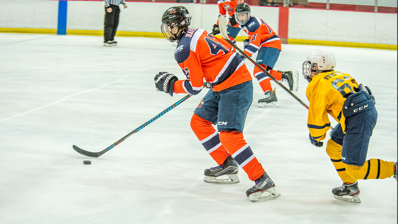 Blue Line Hockey Columbus Day Discovery Showdown - Palm Beach County Sports Commission