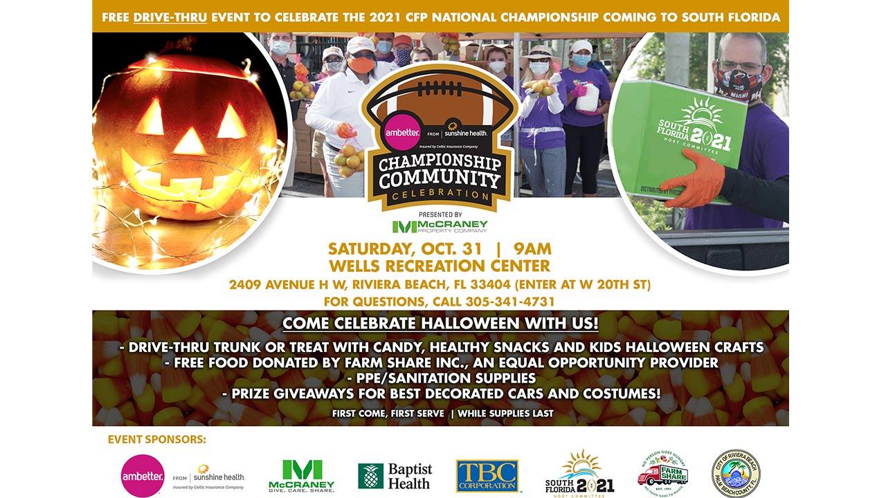 Ambetter By Sunshine Health Championship Community Celebration Palm Beach County Sports Commission